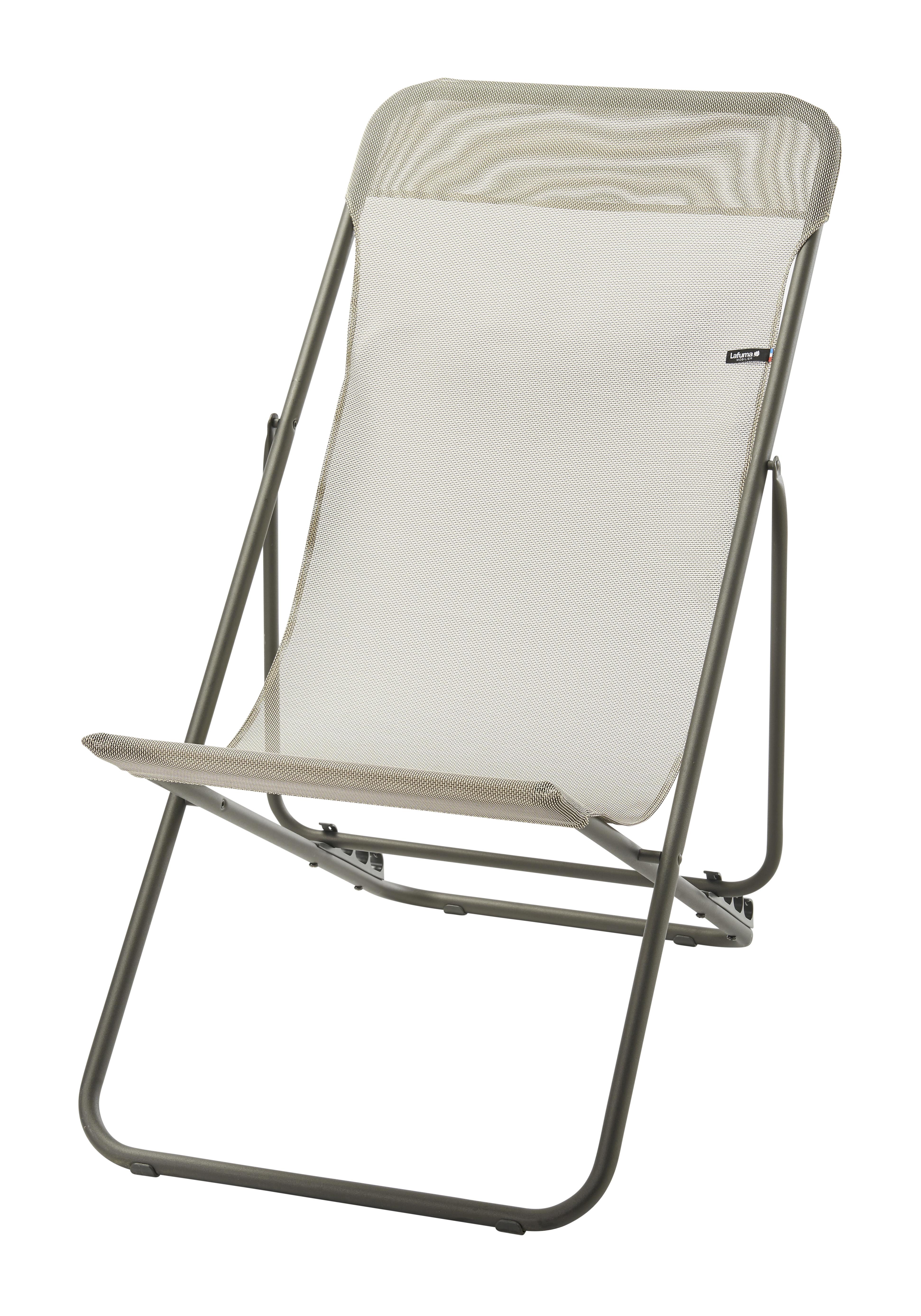 Pas Lafuma Texplast Longue Chaise 2 Seigle Transatube Beige v80ONnmw