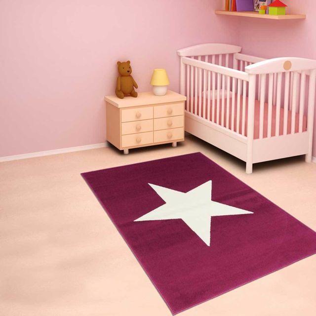 tapis enfant Af Etoile - tapis decoration - tapis salon tapis chambre