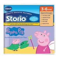 Vtech - Peppa Pig - Jeu Storio Peppa Pig
