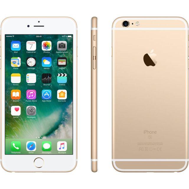 APPLE - iPhone 6S plus - 128 Go - Or - Reconditionné