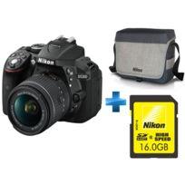NIKON - D5300 18-55mm + Fourre-tout + Carte 16Go