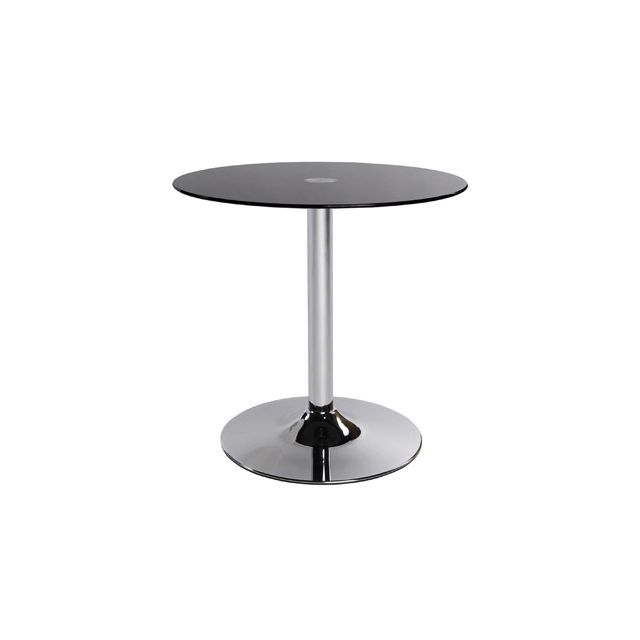 Table basse design 70x70x70cm Vino - noir