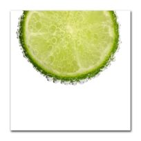 Boniday - Tableau citron vert pétillant 30 x 30 cm