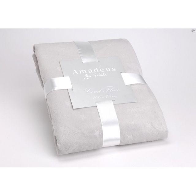 amadeus plaid cocoon toile gris pas cher achat vente couvertures et plaids rueducommerce. Black Bedroom Furniture Sets. Home Design Ideas