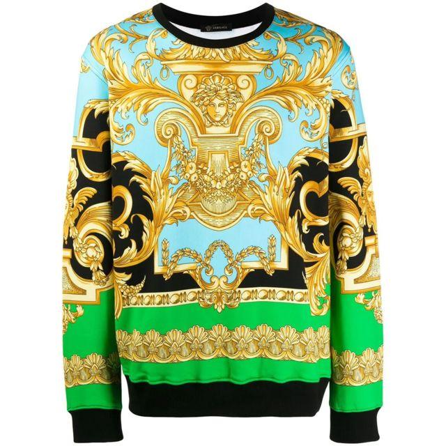 sweatshirt versace homme