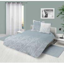 la maison d 39 amelie parure de couette 100 coton 57 fils 260x240 feliz pas cher achat vente. Black Bedroom Furniture Sets. Home Design Ideas