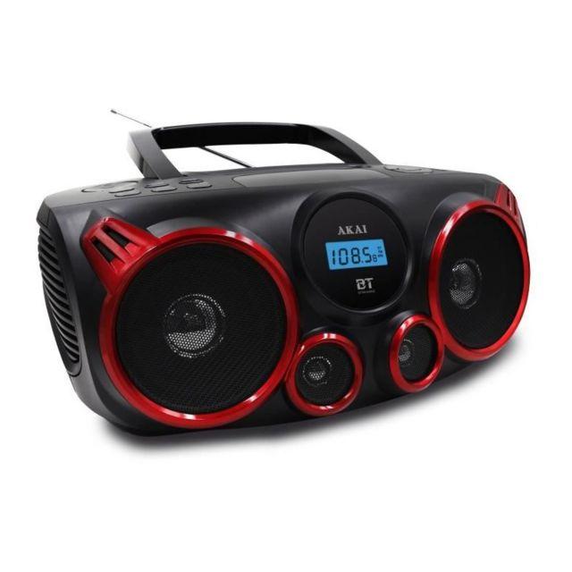 70a3e4a757bfcd Akai - Ceu-2700BT Boombox - Radio - Cd - Mp3 - Port Usb - Bluetooth - pas  cher Achat   Vente Radio, lecteur CD MP3 enfant - RueDuCommerce