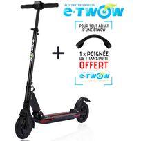 E-twow - Trottinette patinette électrique Etwow booster plus grande autonomie 33V noir lithium pliable