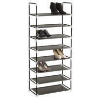Helloshop26 - Etagère meuble organisateur range chaussure rangement pratique 24 paires 2008116