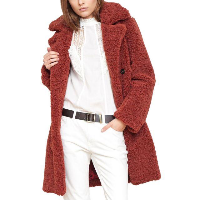 Manteau parka courte femme