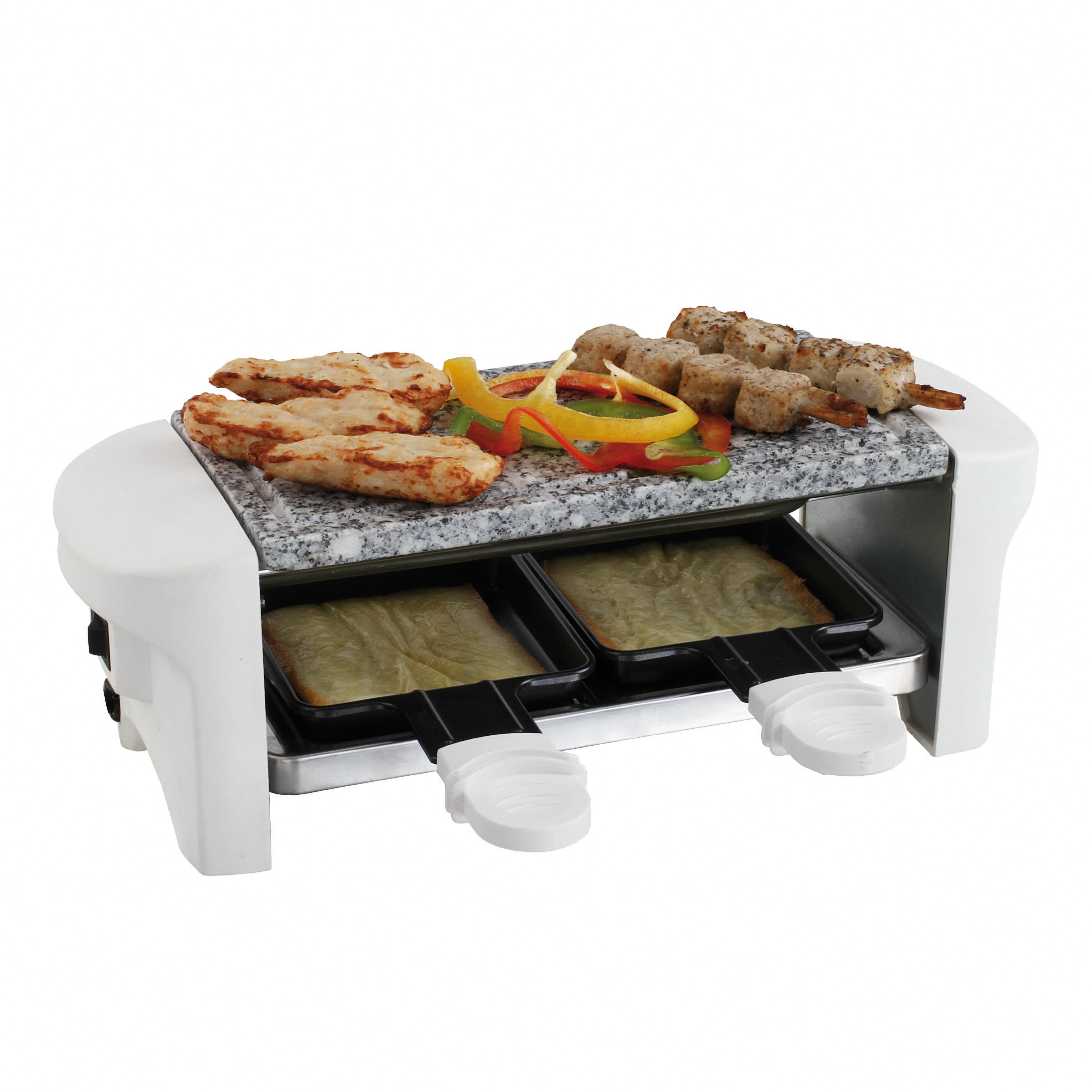 Domoclip appareil raclette blanc 2 personnes doc156w achat raclette cr pi re - Appareil a pizza tefal ...