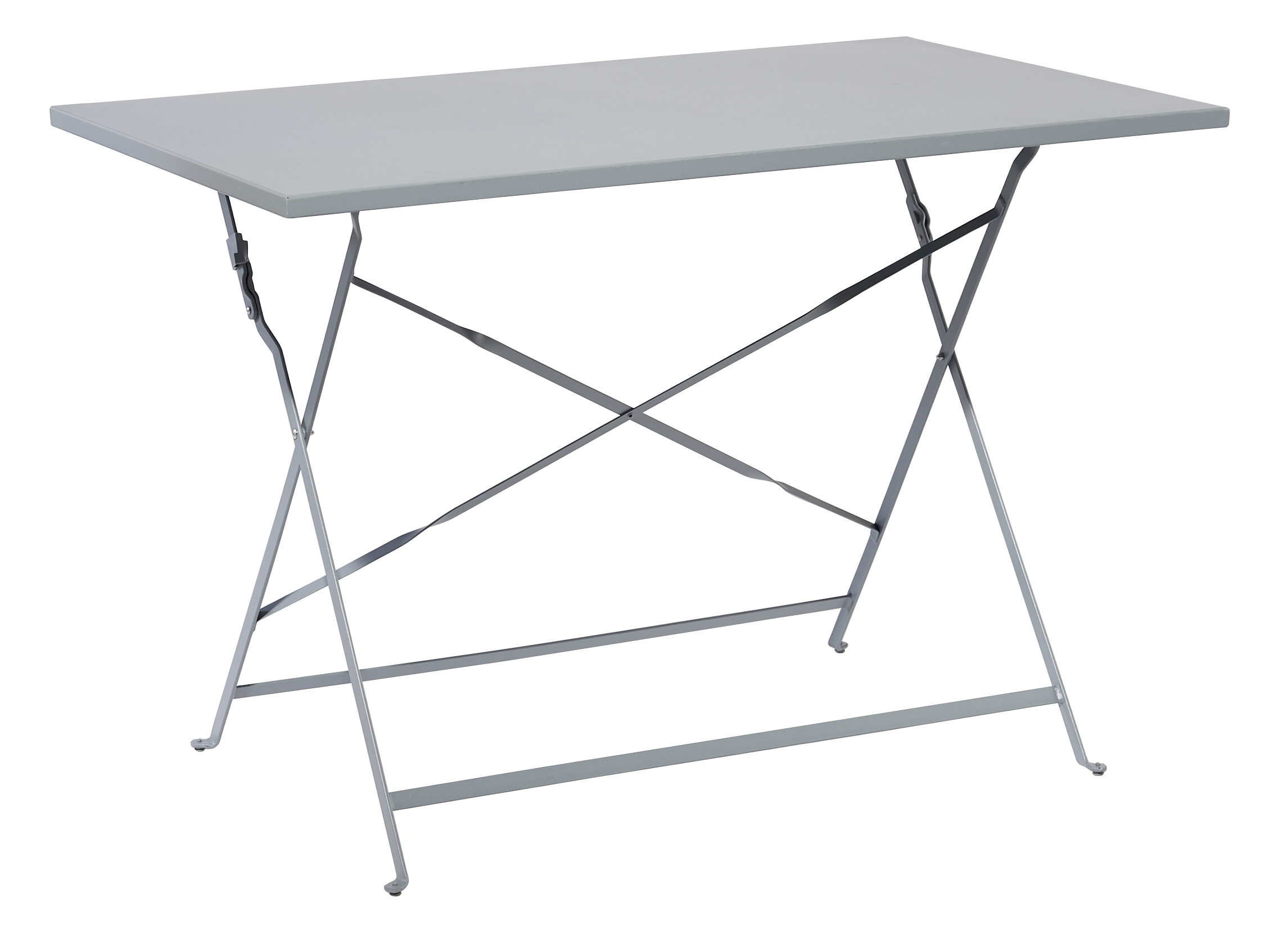carrefour table bistrot rectangulaire gris fse1306t. Black Bedroom Furniture Sets. Home Design Ideas