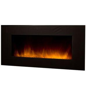 chemin 39 arte chemin e lectrique 2000w avec t l commande volcano xxl noir pas cher achat. Black Bedroom Furniture Sets. Home Design Ideas