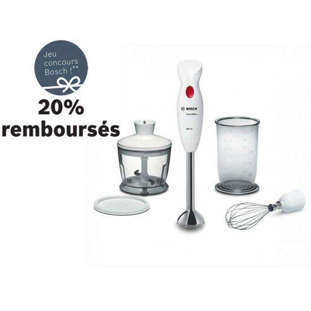 Bosch Mixeur plongeant Clevermixx MSM24500