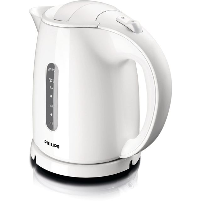 Philips bouilloire électrique de 1,5L 2400W blanc