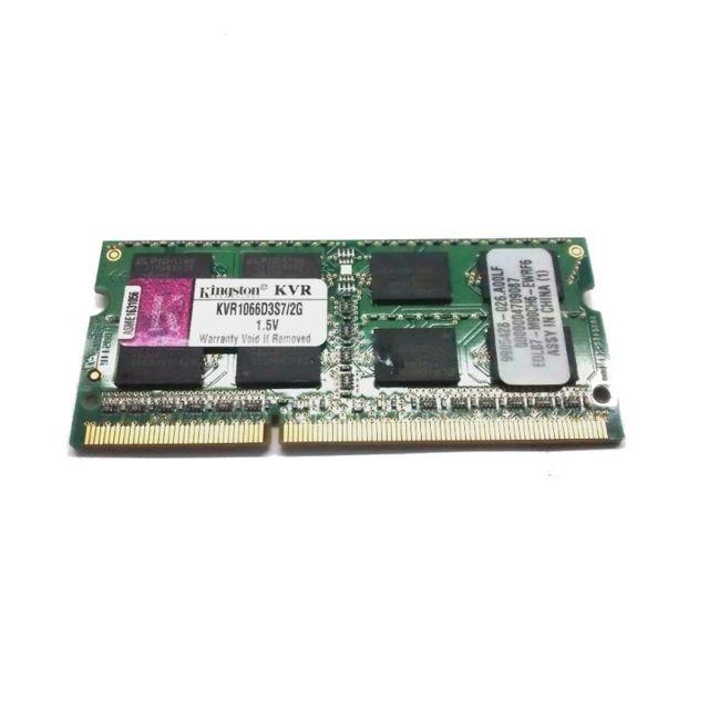 2Go Ram Pc Portable Sodimm Ddr3 Pc3-8500S Kvr1066D3S7-2G Cl7