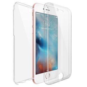 coque iphone 6 360 degres avant et arriere transparent