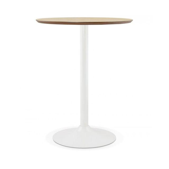 Kokoon Design Table bar design Staan Natural 90x90x110 cm