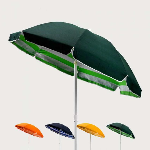beachline parasol de plage 200 cm coton tropicana pas cher achat vente parasols. Black Bedroom Furniture Sets. Home Design Ideas