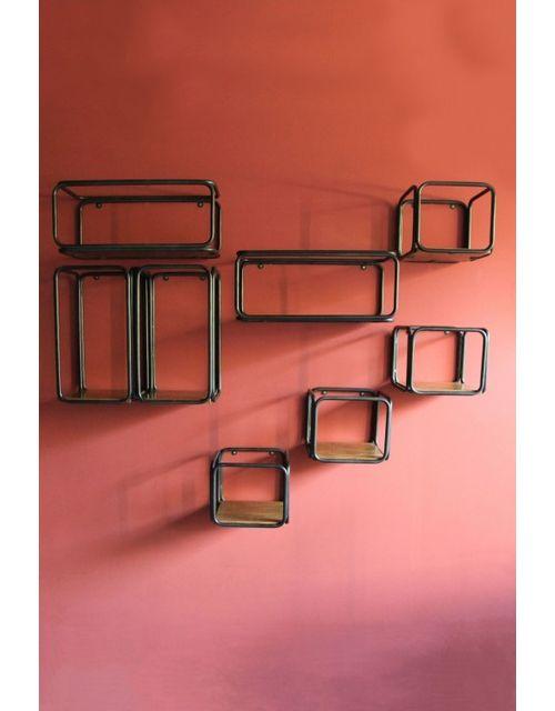 Decoshop Etagères modulables 8 pièces