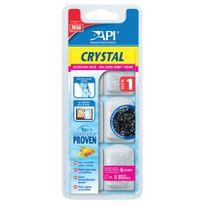 Rena Api - Filtration en Dose Crystal de Taille 1 pour Aquarium - x6
