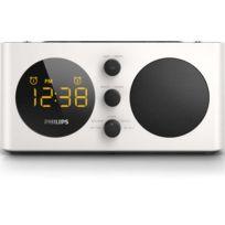 PHILIPS - Radio-réveil AJ6000/12 - Blanc