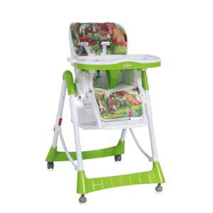 Lorelli chaise haute r glable volutive primo vert clair pas cher achat vente chaises - Chaise haute evolutive carrefour ...