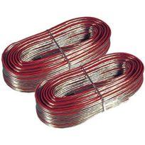 4Connexx - Câble enceinte / hp 2 x 1,5 mm² 2 x 10m Cb-8810