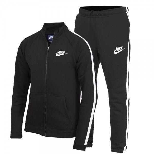 21a2726278fb1 Nike - Ensemble de survêtement Tracksuit Flc - Ref. 804312-010 Noir ...