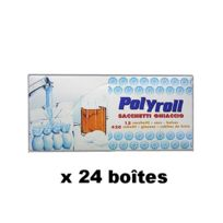 Tersol - Boîtes X 24 de 15 Sachets De 28 Glaçons Polyroll
