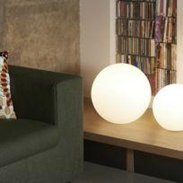 Slide - Globo In - Lampe à poser Blanc Ø40cm