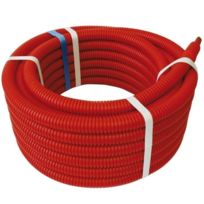 Somatherm - Tube Per Bao Gainé pour chauffage et climatisation - Rouge - 10 x 12 - 100 m