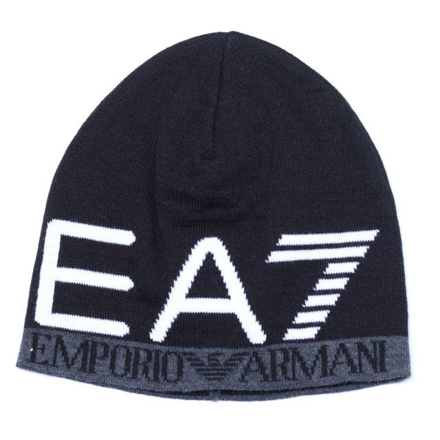 Armani - Bonnet Ea7 Emporio 275560 - 7a393 00020 Noir - pas cher ... a9802276573