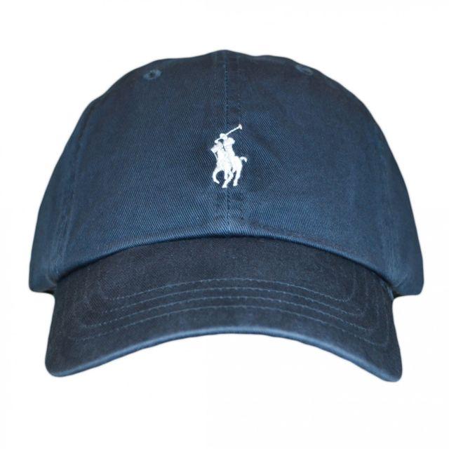 Ralph Lauren - Casquette Ralph Lauren gris anthracite logo gris pour homme e8195fc97e1