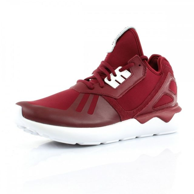 Adidas originals Baskets Tubular Runner Rouge pas cher