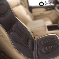 Totalcadeau - Siège massant et chauffant spécial voiture doux et matelassé