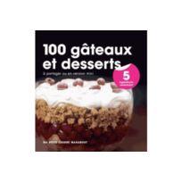 Marabout - 100 gâteaux et desserts en 5 ingrédients Cuisine des desserts