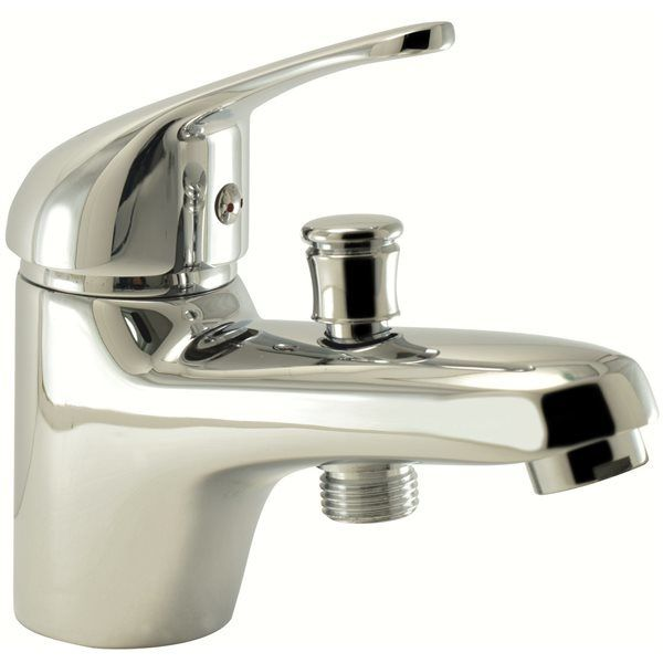 robinet mitigeur bain douche monotrou en laiton chrom. Black Bedroom Furniture Sets. Home Design Ideas