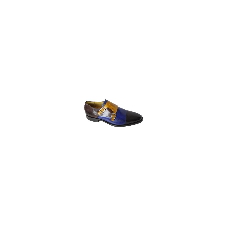 b97c71faf0448 MELVINHAMILTON- Chaussure en cuir Melvin   Hamilton Jeff 22 - Bleu