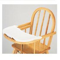 Combelle - Tablette amovible blanche pour chaise haute