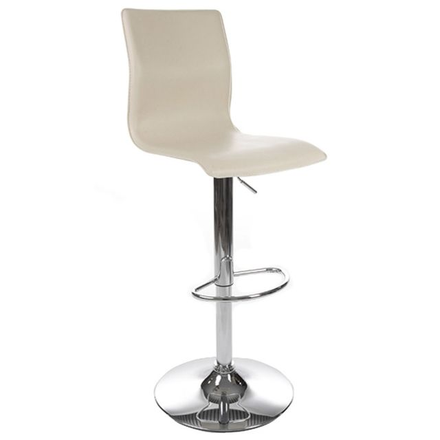 kokoon design tabouret de bar design soho cr me pas cher achat vente tabourets rueducommerce. Black Bedroom Furniture Sets. Home Design Ideas