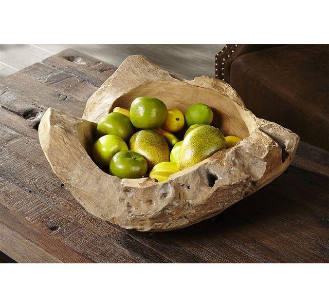 CHLOE DESIGN Fruitier en bois Corda - naturel - 50