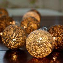 2 STARS - Guirlande LED JOLLY LIGHT Chocolat