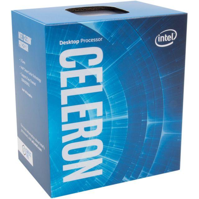 INTEL Processeur Celeron G3930 2.90GHz 2M LGA1151 - KABYLAKE Processeur Intel Celeron G3930 2.90GHz 2M LGA1151 - KABYLAKE