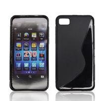Bluetrade - Coque Tpu Noire type S pour BlackBerry Z10