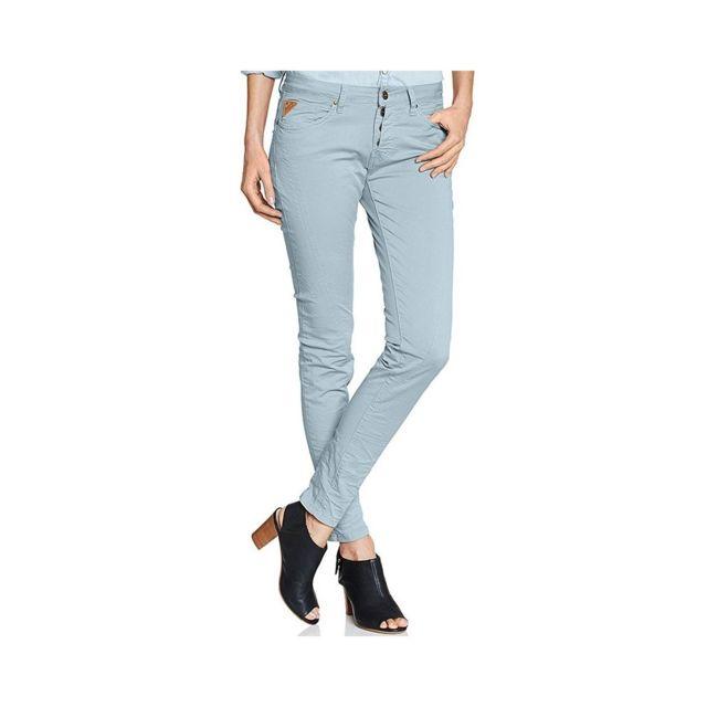 Deeluxe 74 Pantalon Chino Ginger Bleu Femme Deeluxe Multicouleur Xs