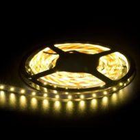 Xcsource - Ruban lumineux de 5m avec 300 Led Smd 3528 blanc chaud bande adhésive alimentation 12V éclairage flexible