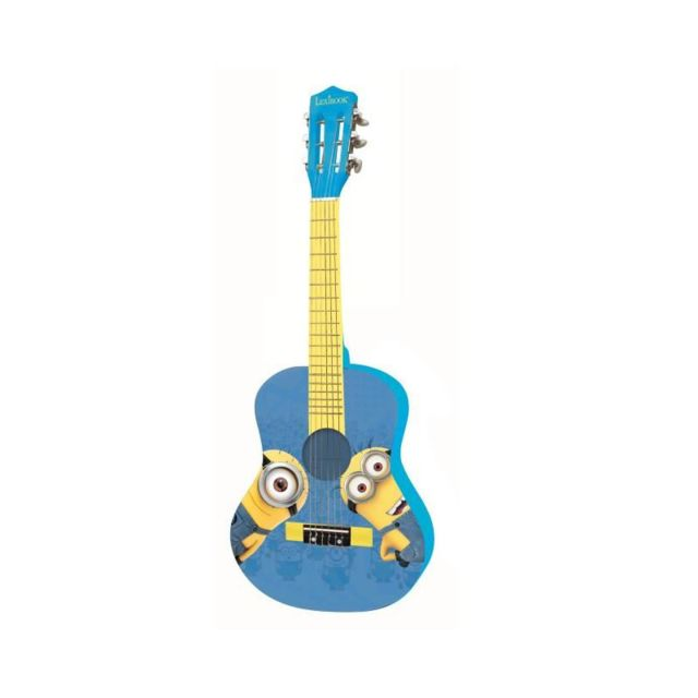 Lexibook Les Minions Guitare Acoustique Enfant 78 cm