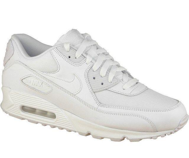 huge discount 77a83 9e3b5 Nike - Air Max 90 Essential 537384-111 Homme Baskets Blanc - pas cher Achat    Vente Baskets homme - RueDuCommerce