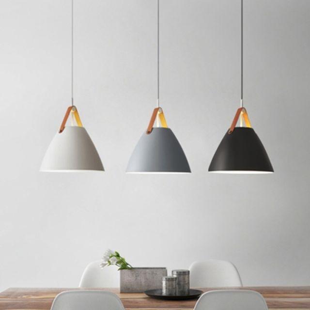 Wewoo Lampe Suspendue Luminaire Salon Led Simple Moderne